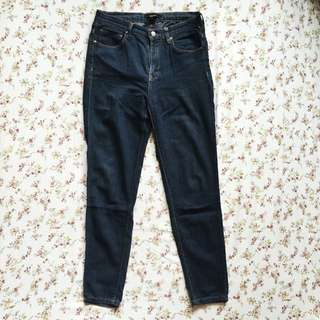 Forever21 Indigo Slim Fit Jeans