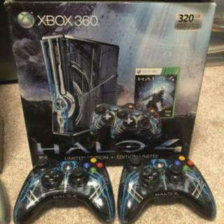 Xbox 360 Slim 320 GB Halo 4 Limited Edition