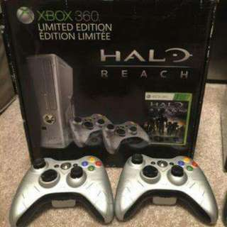 Xbox 360 250 GB Slim Halo Reach Limited Edition