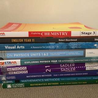 Year 11 & 12 ATAR Books