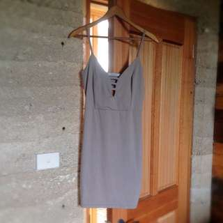 Solemio LA Grey Dress