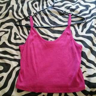 Supré Pink Crop Top