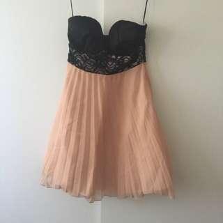 STRAPLESS PARADISCO DRESS