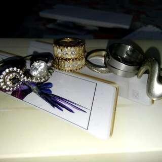 Rings W/ 1Fair Earings