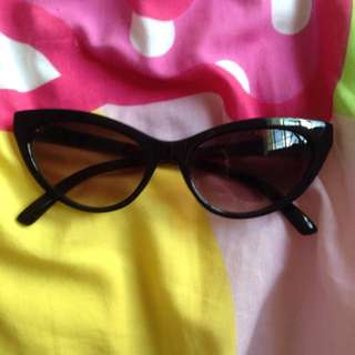 Dangerfield Cat Eye Cateye Sunglasses 50s Rockabilly