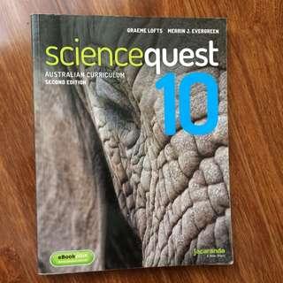 Sciencequest 10 (second Edition) Graeme Lofts
