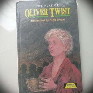(LIT TEXT) The Play Of Oliver Twist