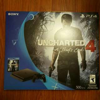 PS4 UNOPENED WITH GAMES