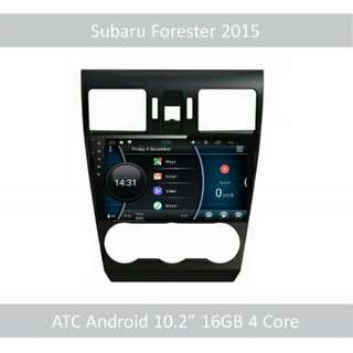 "ATC Android 9"" In Car Player headunit Subaru Forester"