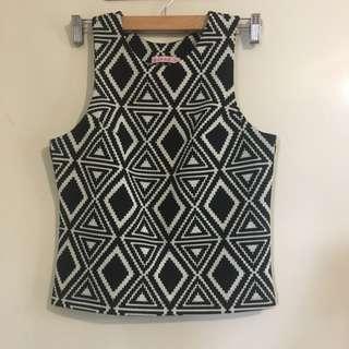 Ladies M Aztec Design Top