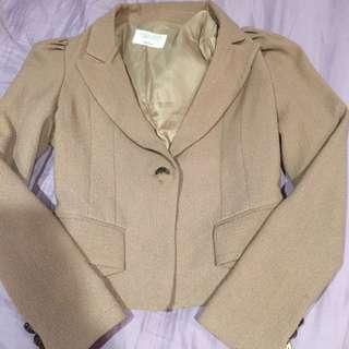韓國公主袖西裝外套