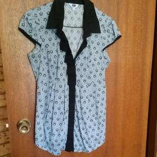 Cue ❤Vintage Shirt Size 6