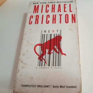 Next Michael Crichton