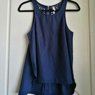 Size 8 Top Never Worn