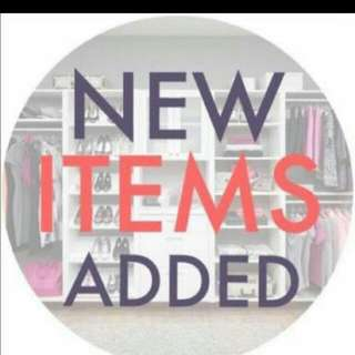 New Items And Great Prices!!!