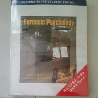 Forensic Psychology Third Edition