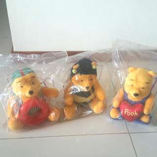 Winnie The Pooh Soft Toys