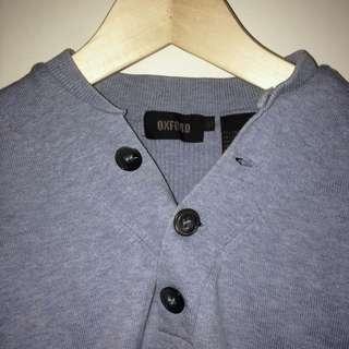 Oxford XL Men's Light Blue Knit Jumper