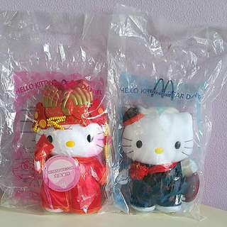 Sanrio Macdonalds Hello Kitty Couple - Chinese Wedding