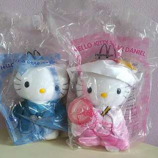 Sanrio Macdonalds Hello Kitty Couple - Japanese Wedding