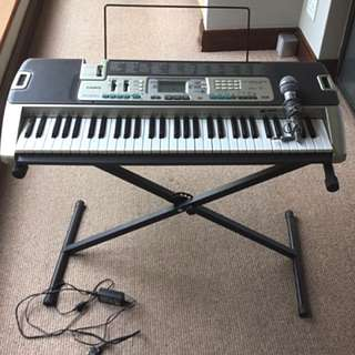 Casio LK-215 Key Lighting Digital Keyboard