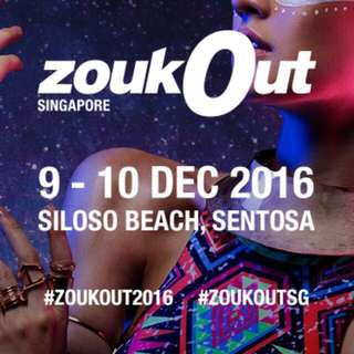 ZOUKOUT DAY 2 TICKET