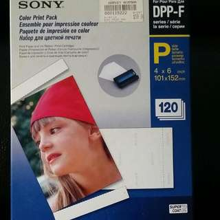 Sony Color Print Pack DPP-F