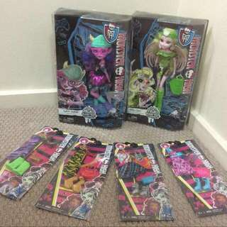 Monster High Bulk Lot BRAND NEW