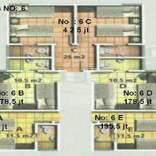 Apartemen Aeropolis (Studio)