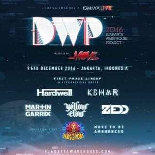 Tiket Dwp Day 2