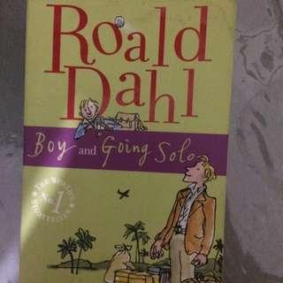 Roald Dahl : Boy Going Solo