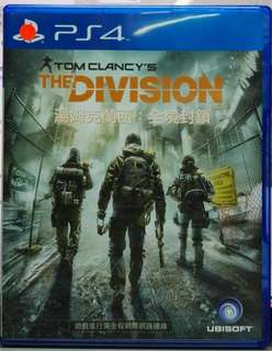 PS4 The Division 全境封鎖 中文版
