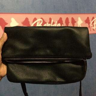 Stradivarius Black Sling Bag