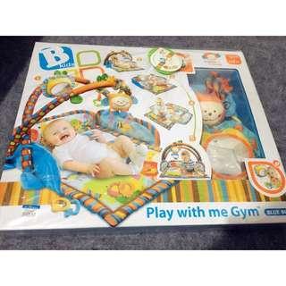 嬰兒多功能地毯健身架