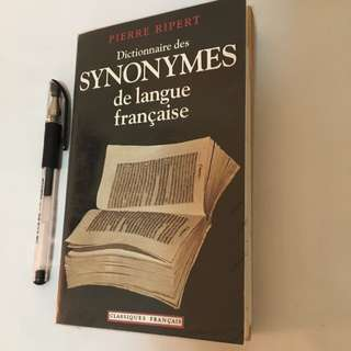 Dictionnaire Des Synonymes 法語同義字字典