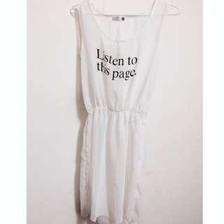 # 半透明連身洋裝