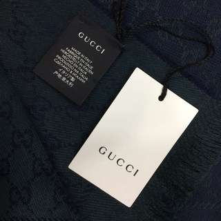Gucci羊毛圍巾