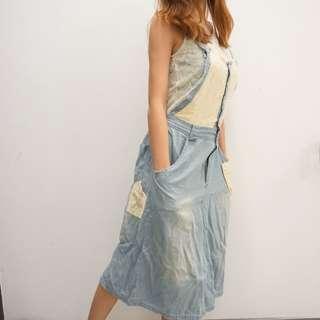 日本森女系牛仔裙🍂