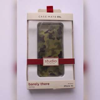 """Authentic Casemate """"Barely There"""" Camo Case iPhone 5c"""