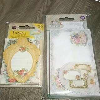 BNIB Prima Marketing- Journaling Cards- Divine 950651/ Delight 950804
