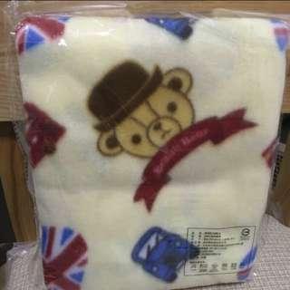 🐻英國熊飛機毯