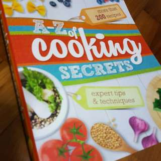 A-Z of Cooking Secrets by Reader Digest