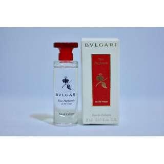 New Bvlgari Eau de Cologne 5 ml / 0.17 fl.oz.