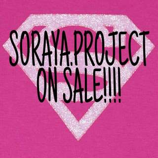 SORAYA.PROJECT ON SALE!!!💛