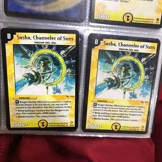 Duel Masters Cards Sasha Channeler Of Suns