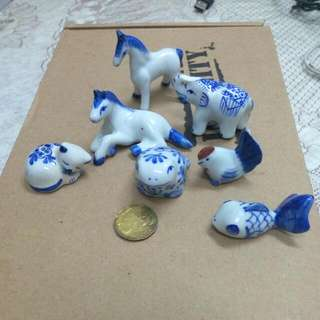 Miniature China Animal.