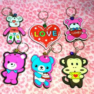 Assorted Design key chains