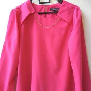 Blouse Pink Fuschia