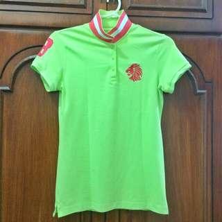 Giordano Women's Polo Shirt Large