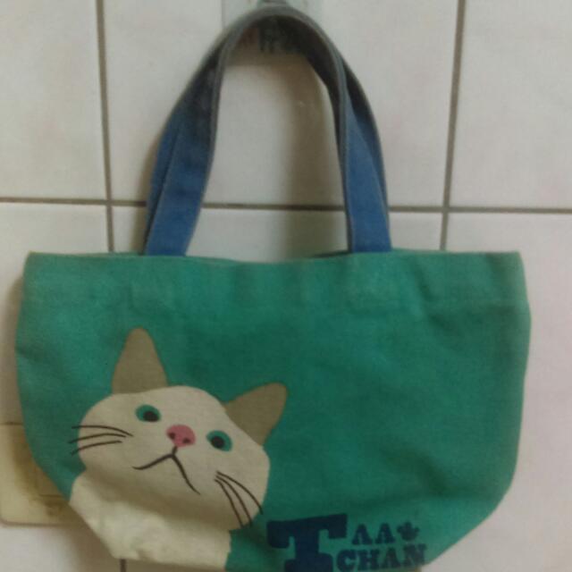 貓咪手提袋